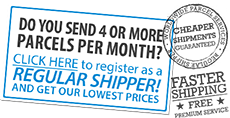 Regular shipping badge