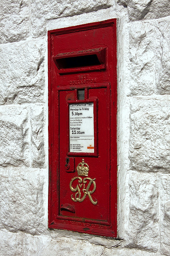 Alternatives for post office deliveries